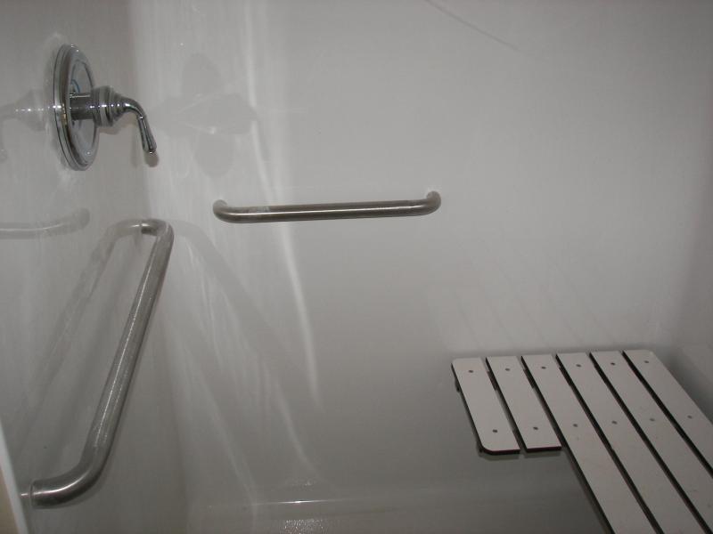 Bath Shower - Handicap Accessible
