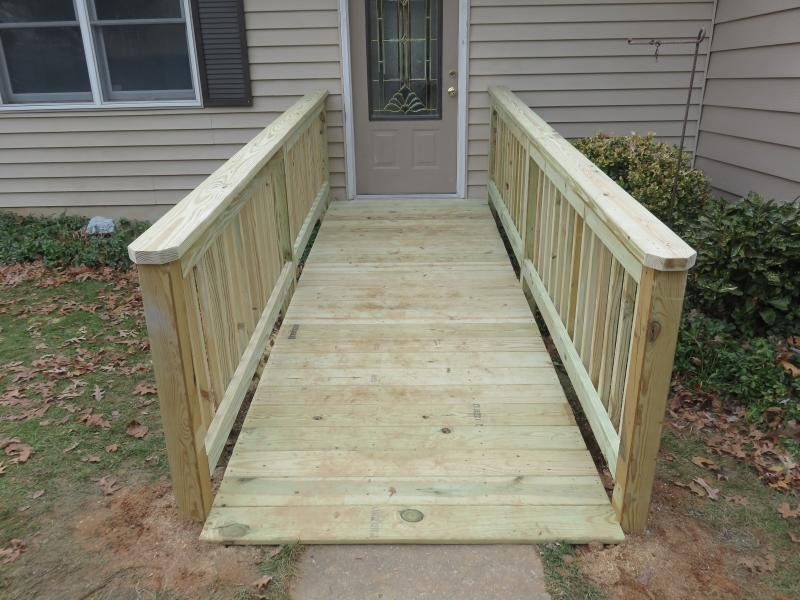 Wheelchair Ramps & Ada Accessible Showers
