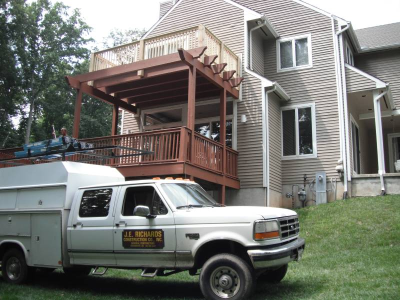 Decks, Porches, Walkways & Stonework